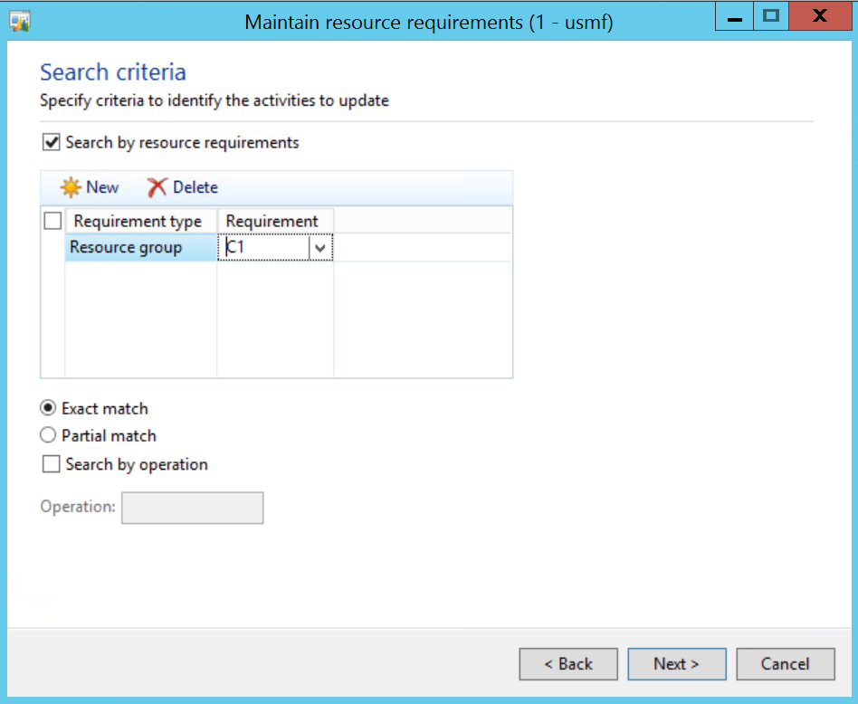 Manufacturing – Dynamics AX Tips