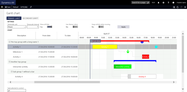 Controlling reservations for warehouse management enabled ...