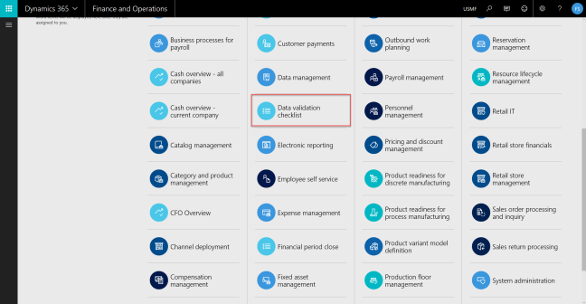Data Validation Checklist in Dynamics 365 for Operations